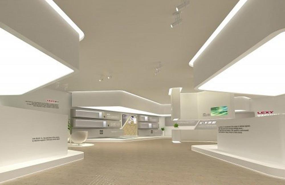 800平米科技展厅设计效果图