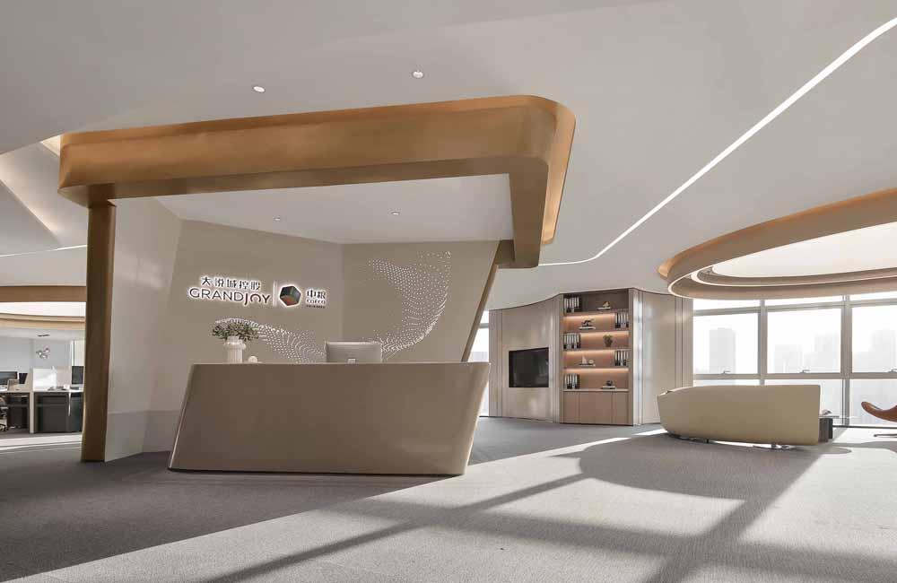 中粮创芯展厅及办公室设计效果图