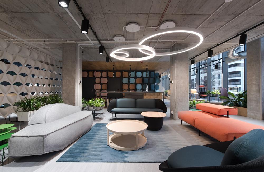 Flokk展厅及办公室设计效果图