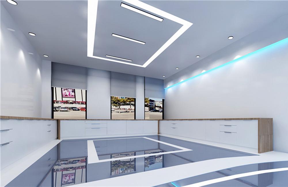 320平米科技智能展厅设计效果图