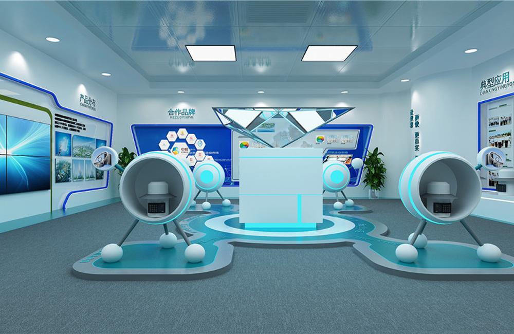 280平米企业科技展厅设计效果图