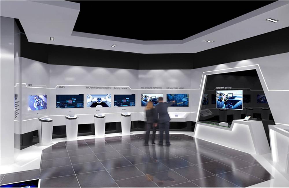 540平米高科技产品展厅设计效果图