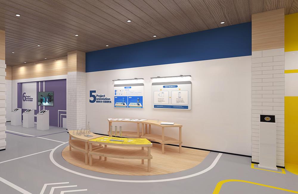 中小学校园安全教育展厅设计效果图